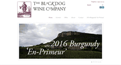 Preview of blackdogwines.co.uk