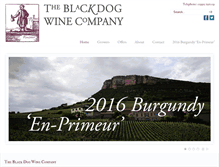 Tablet Preview of blackdogwines.co.uk